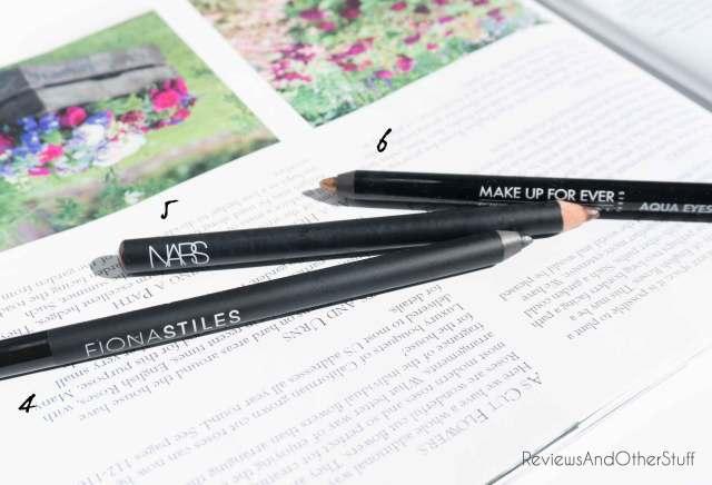 nars eyeliner make up forever waterproof eyeliner fiona stiles eyeliner