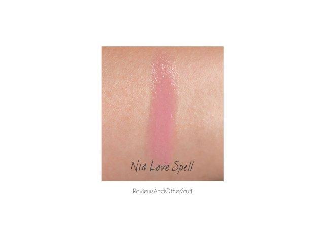 sephora n 14 love spell lipstick