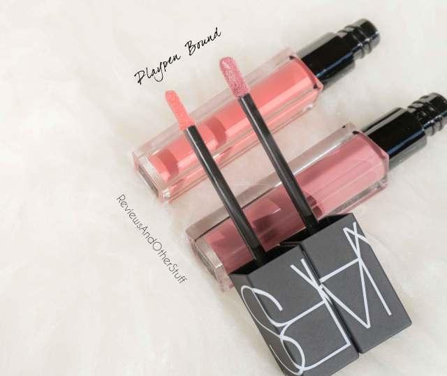nars velvet lip glide playpen and bound review