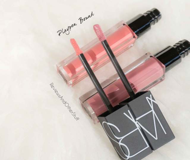 nars velvet lip glide playpen and bound review