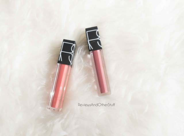 nars velvet lip glide swatches and review