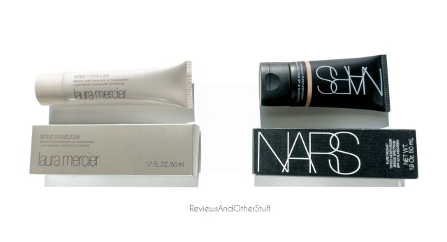 nars tinted moisturizer compared to laura mercier