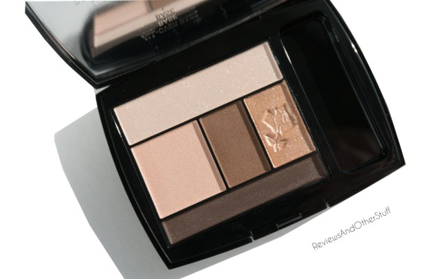 lancome color design 5 shadow & liner palette