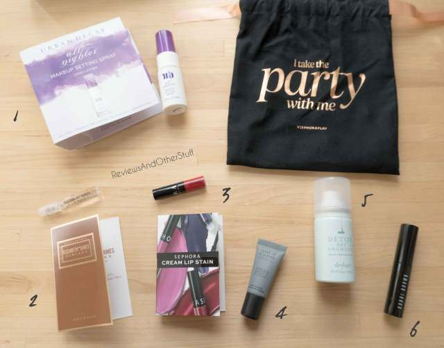 sephora play december