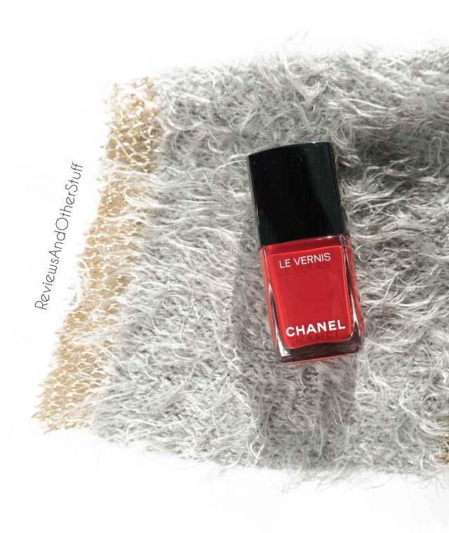 chanel le venis longwear nail colour rouge essentiel
