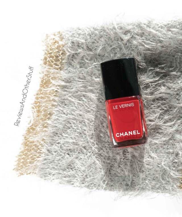 chanel le venis longwear nail colour rouge essentiel