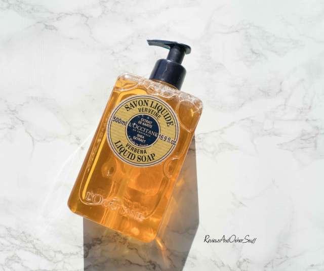 loccitane liquid hand soap verbena