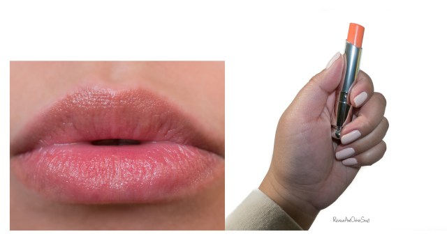 dior addict lip glow coral swatch