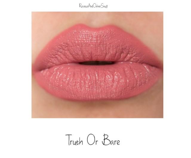 marc Jacobs liquid lip creme truth or bare