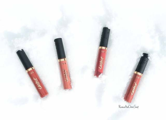 tarte tarteist quick dry matte lip paint swatch review