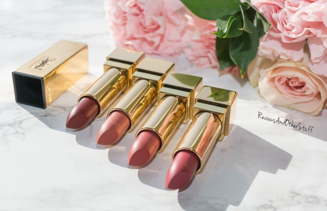 ysl rouge pur couture matte lipsticks