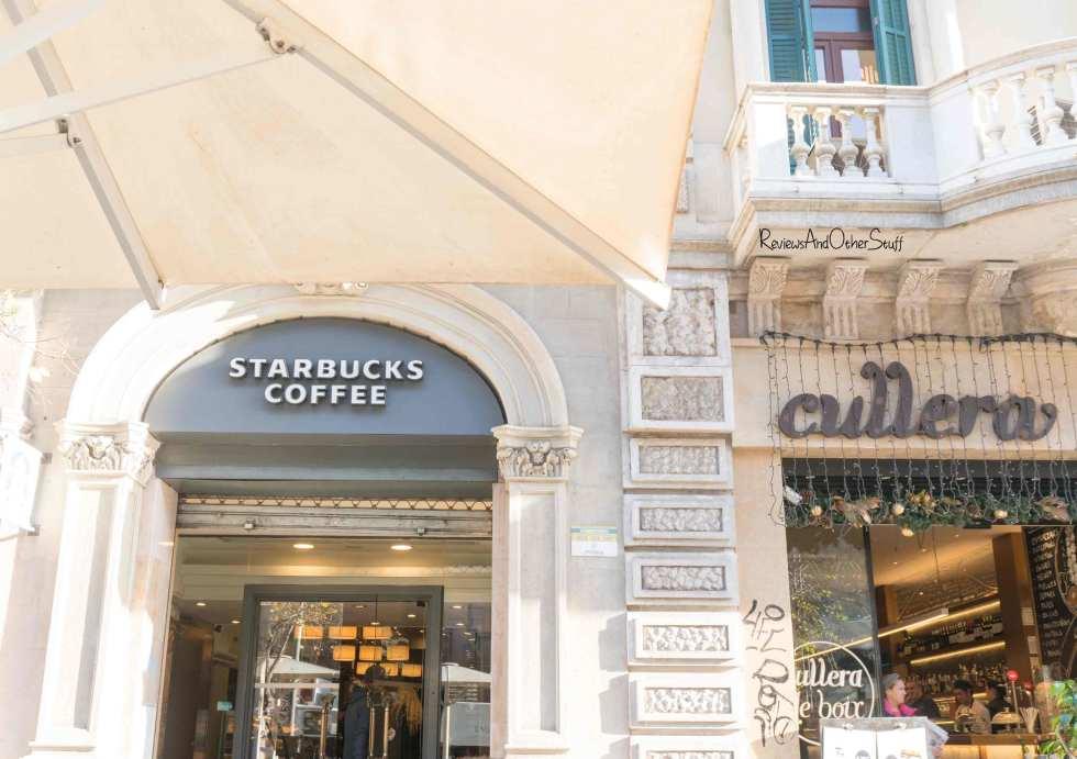 Starbucks passeo de gracia Barcelona