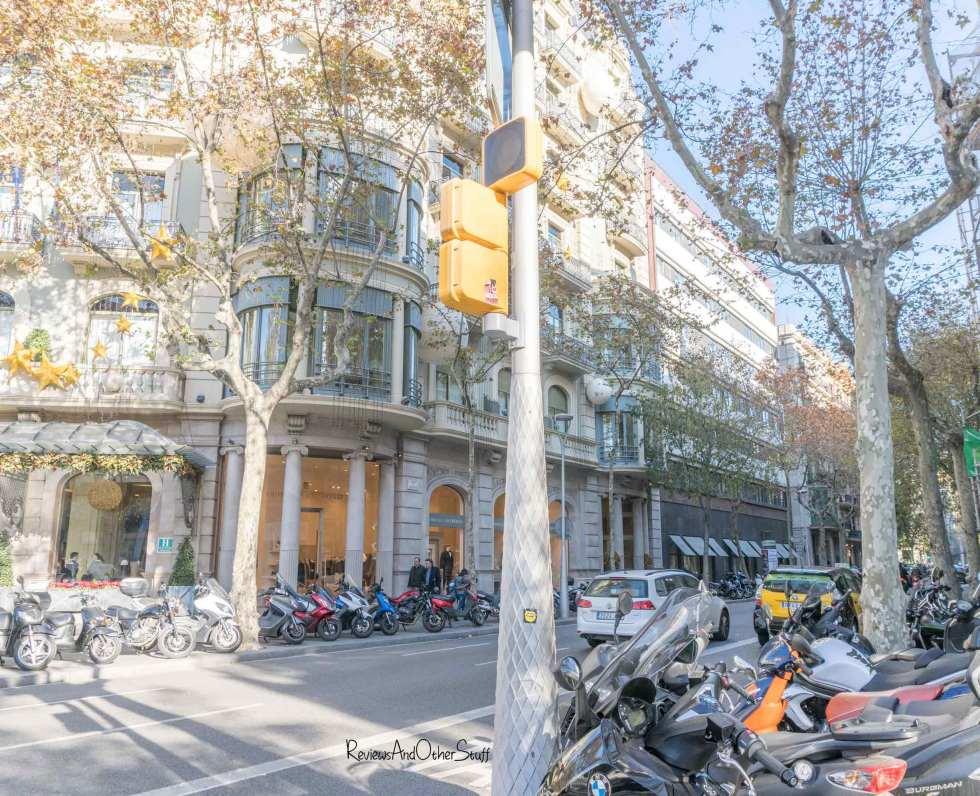 shopping passeig de gracia Barcelona