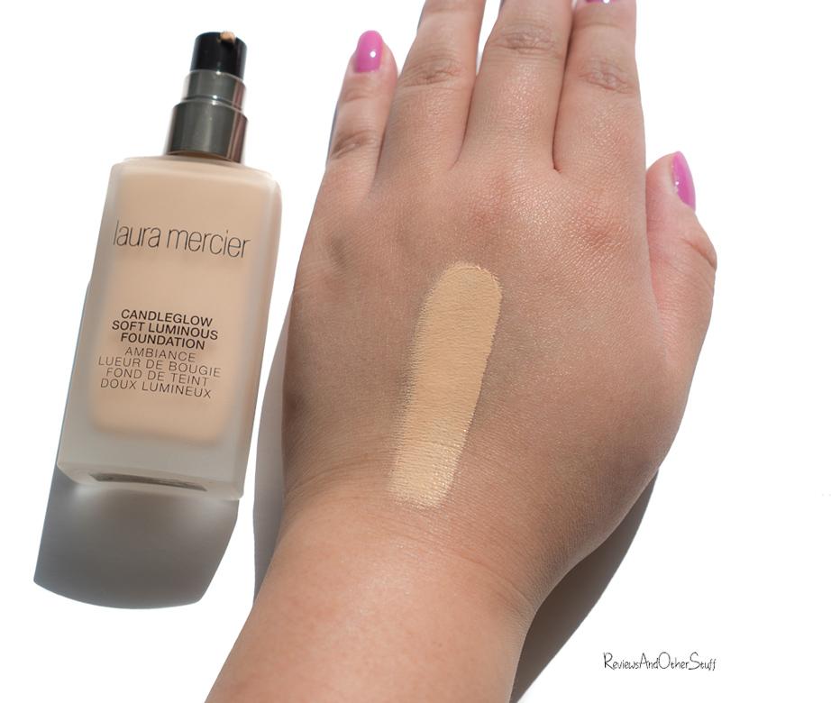 laura mercier candleglow soft luminous foundation honey