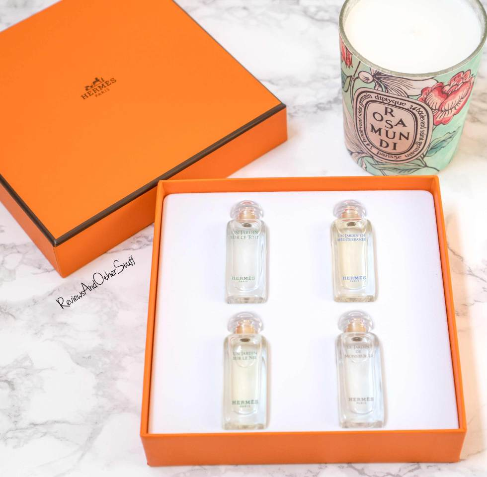 Hermes garden collection coffret set