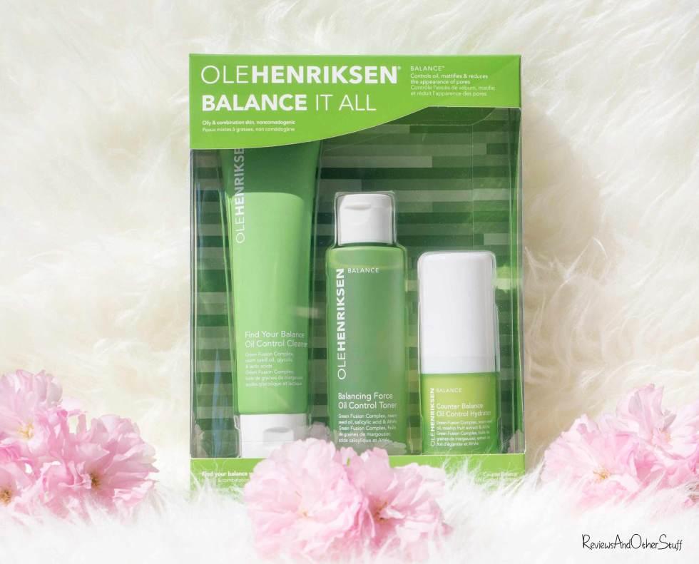 OLEHENRIKSEN Balance It All Set review