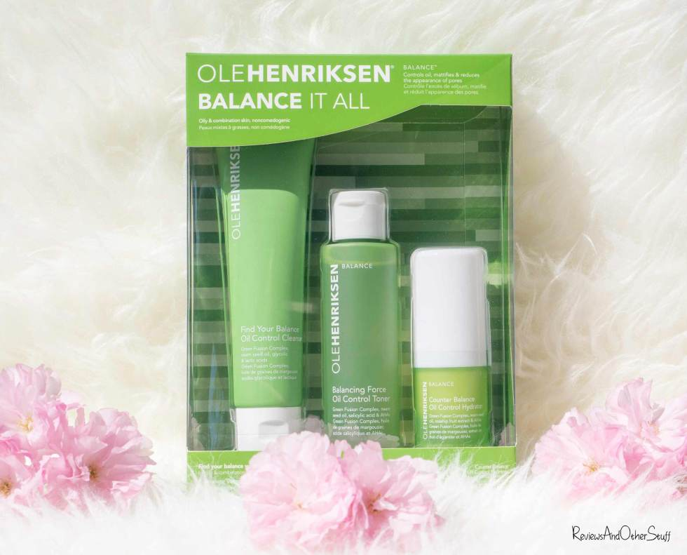 OLEHENRIKSEN Balance It All Set review
