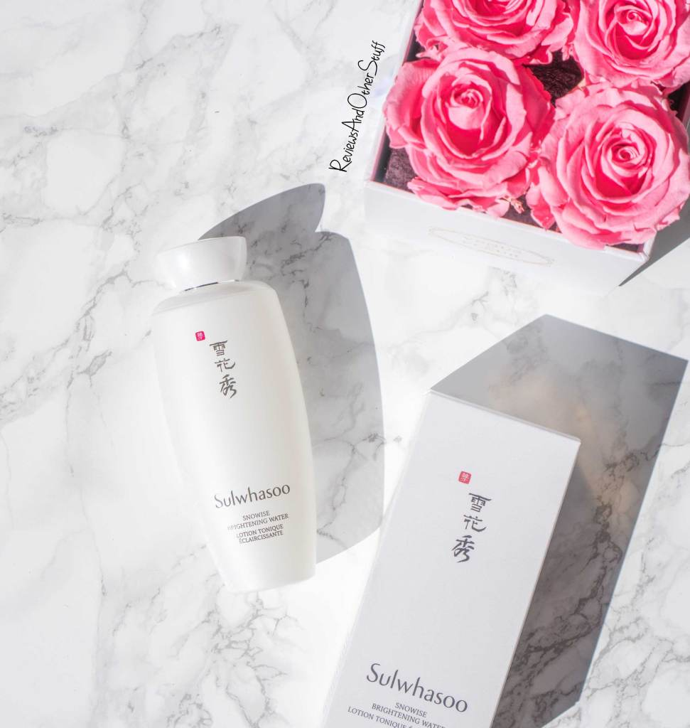 Sulwhasoo Snowise Brightening Water Review