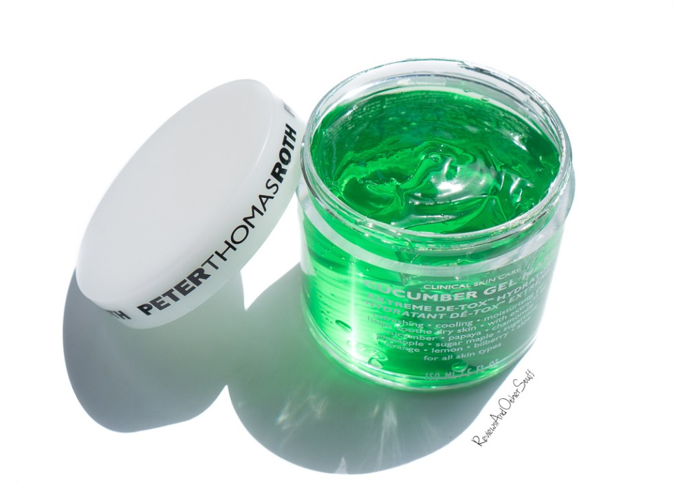 Peter Thomas Roth Cucumber Gel Mask Extreme De-Tox Hydrator