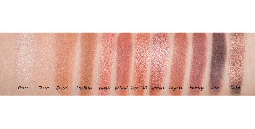 Urban Decay Naked Heat Palette Review Swatches