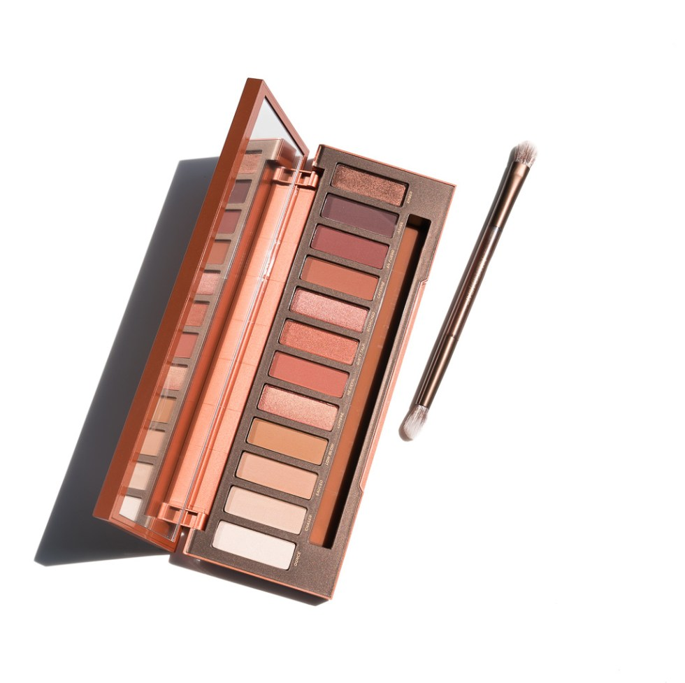 Urban Decay Naked Heat Palette Review  Swatches --3384