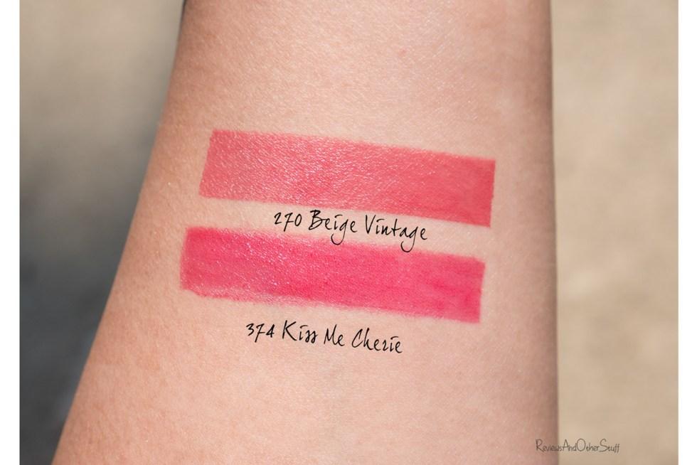 Lancome Matte Shaker Liquid Lipstick swatches