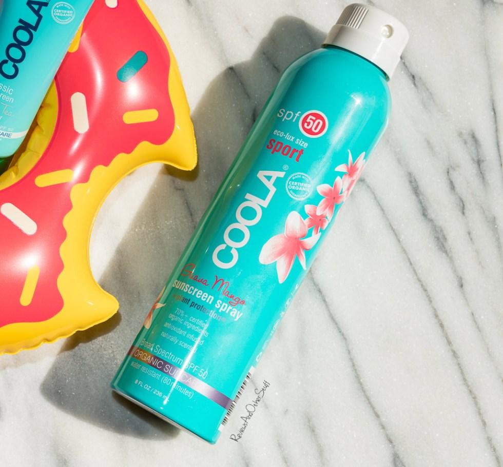 Coola Sport Continuous Spray Spf 50