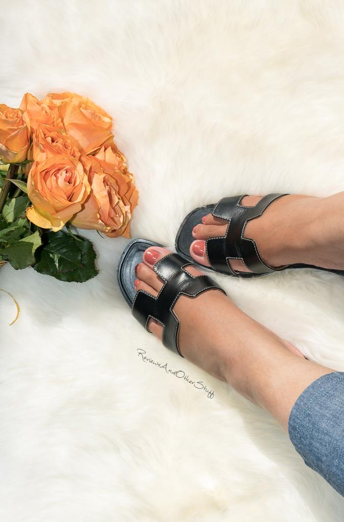 hermes oran h sandal