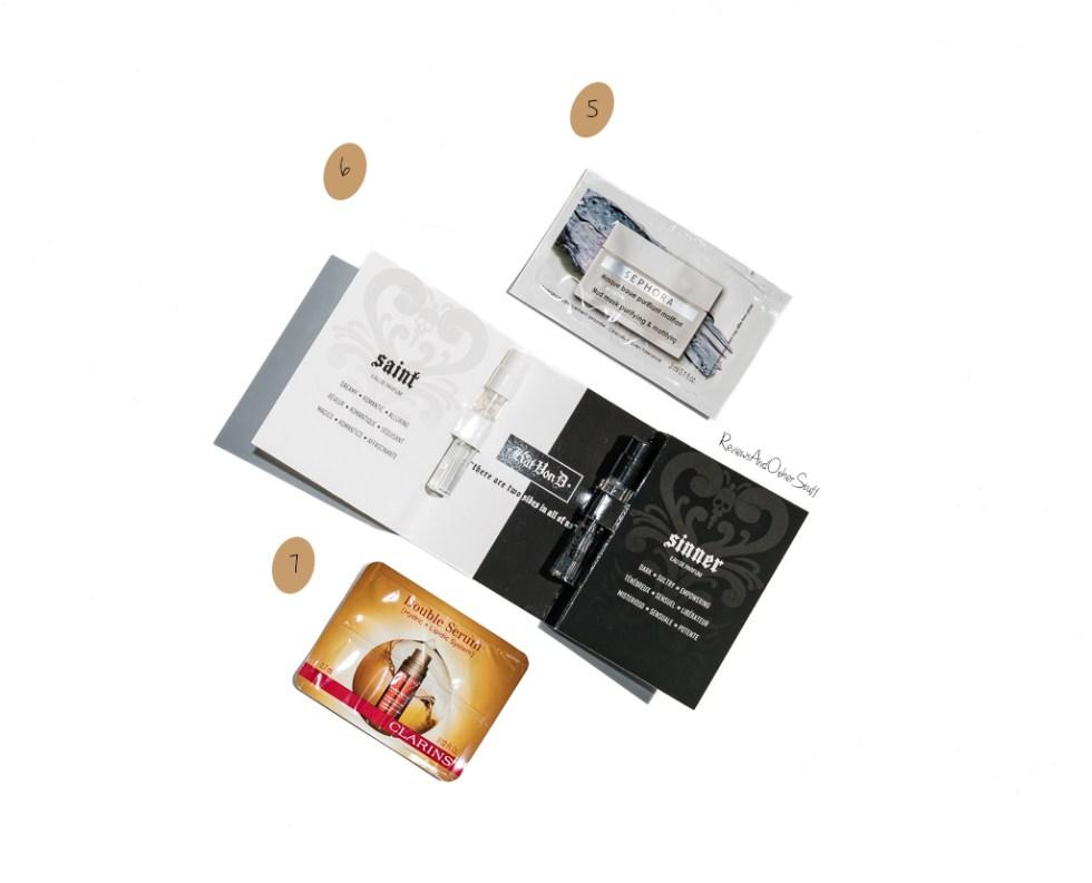 kat von d Saint Eau de Parfum Clarins Double Serum Complete Age Control Concentrate