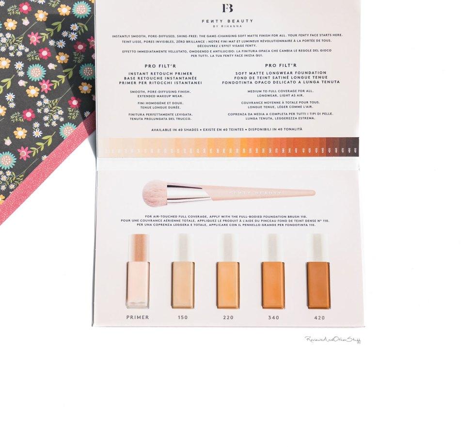 fenty Pro Filt'r Soft Matte Longwear Foundation review