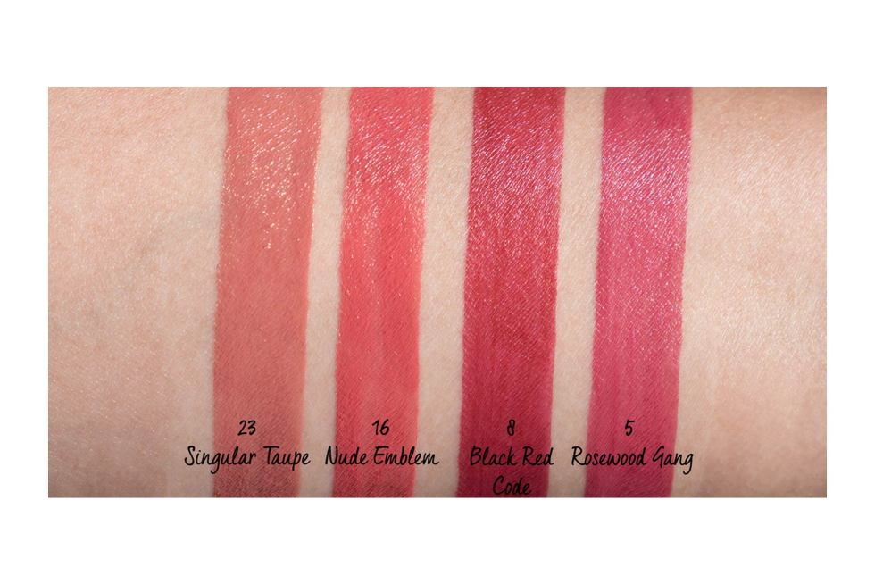 YSL Tatouage Couture Liquid Matte Lip Stain swatch