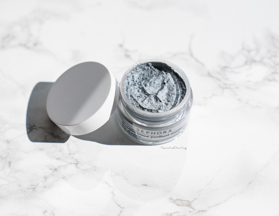 Sephora Collection Mud Mask Purifying & Mattifying review