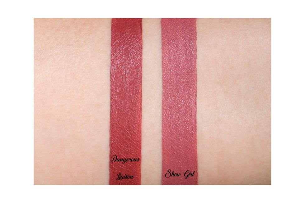 charlotte tilbury hollywood lips swatches