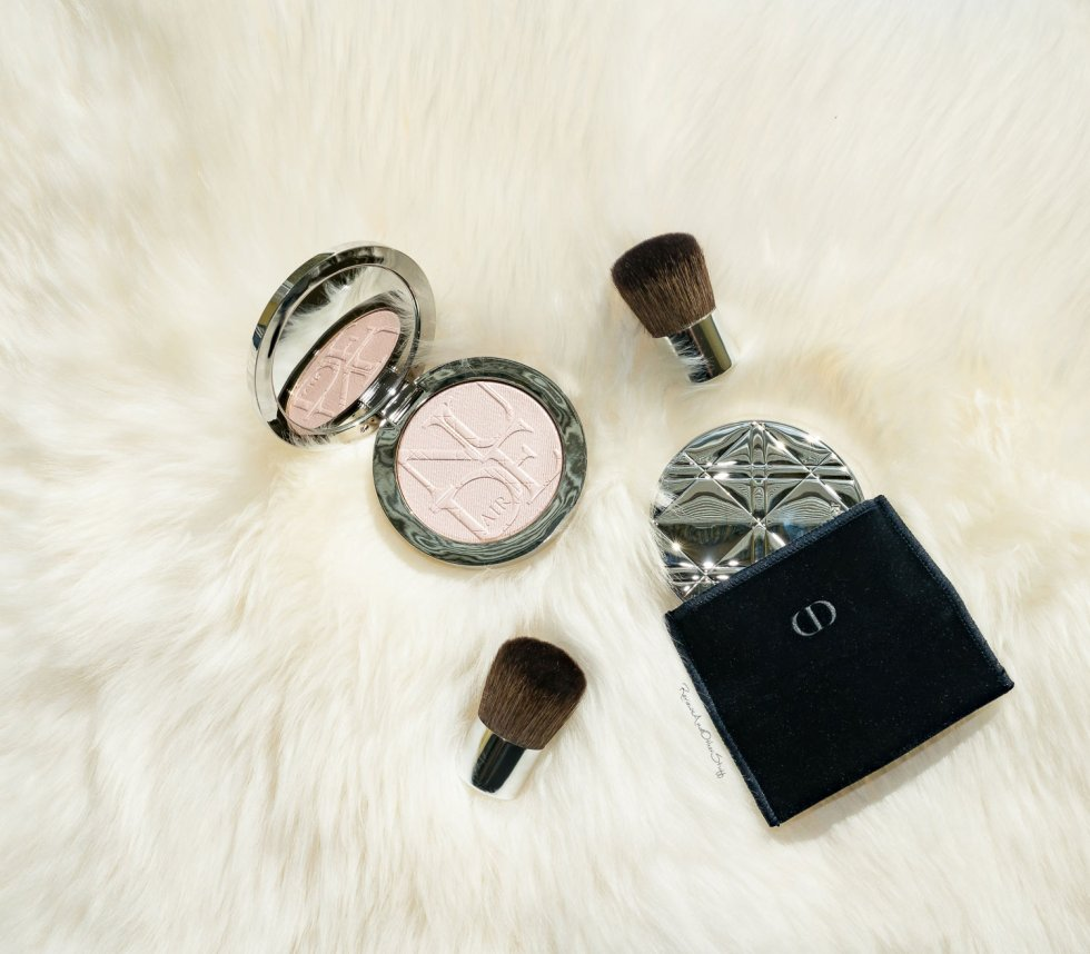 diorksin nude air luminizer review swatch