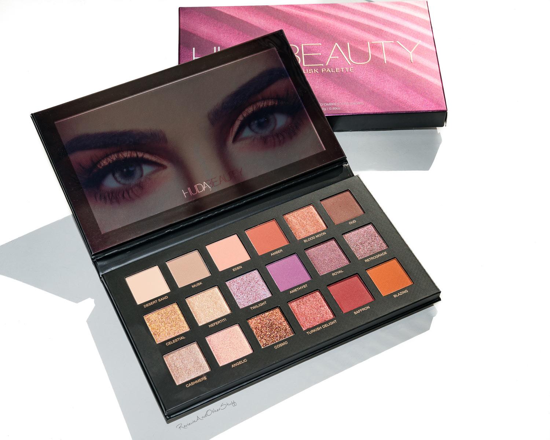 Huda Beauty Desert Dusk Eyeshadow Palette - Review | The