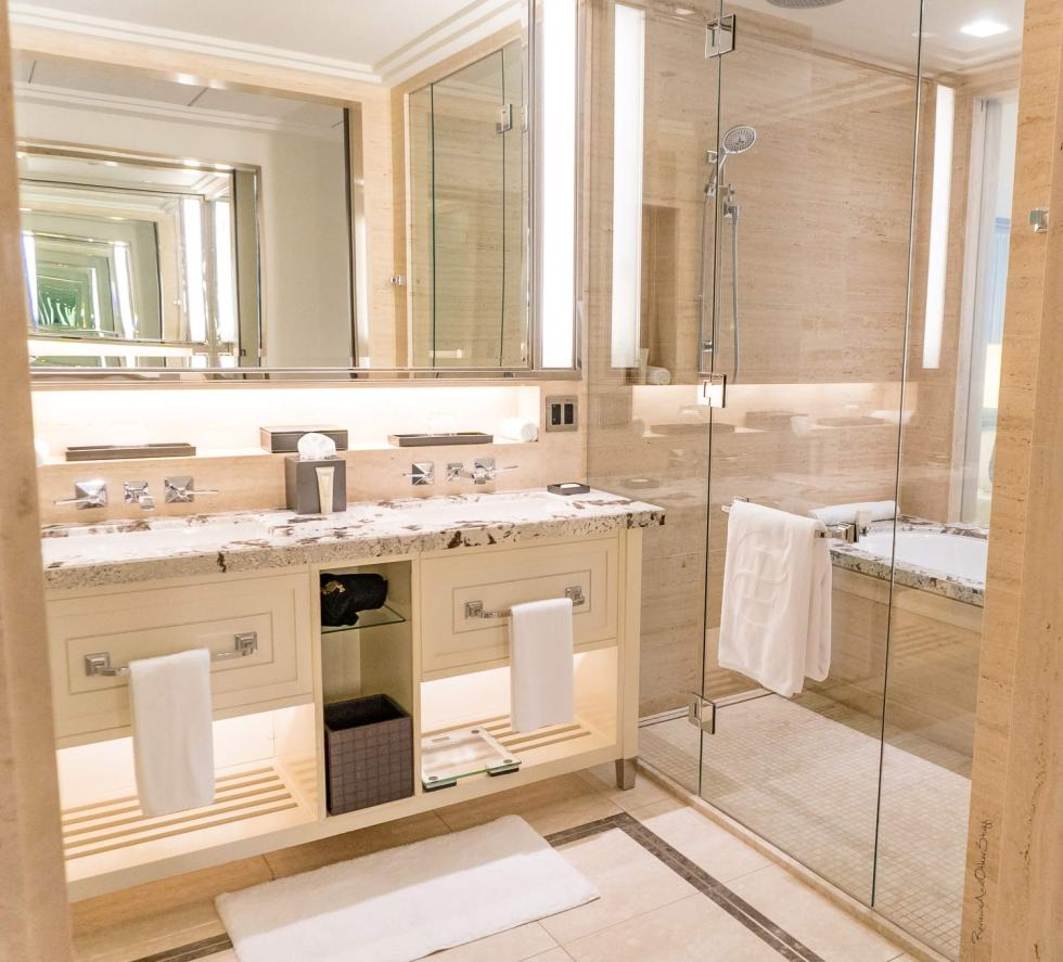langham chicago bathroom