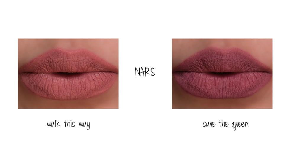 nars powermatte lip pigment in walk this way swatch