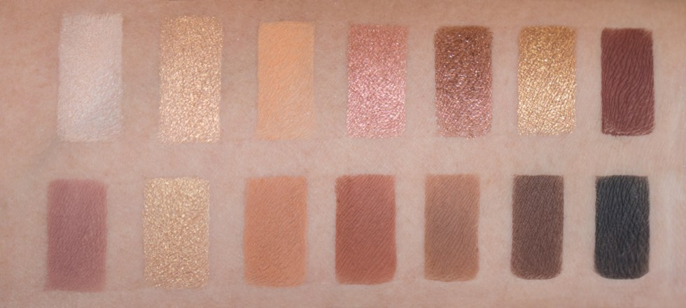 anastasia soft glam eyeshadow swatch