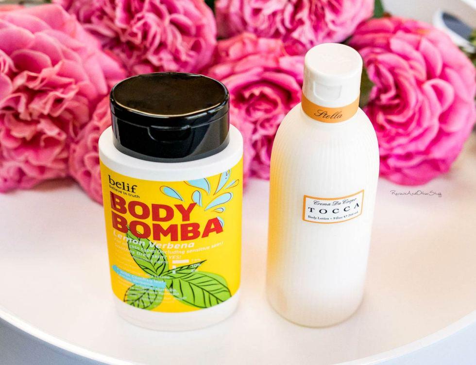 Belif Body Bomba Lotion in Lemon Verbena