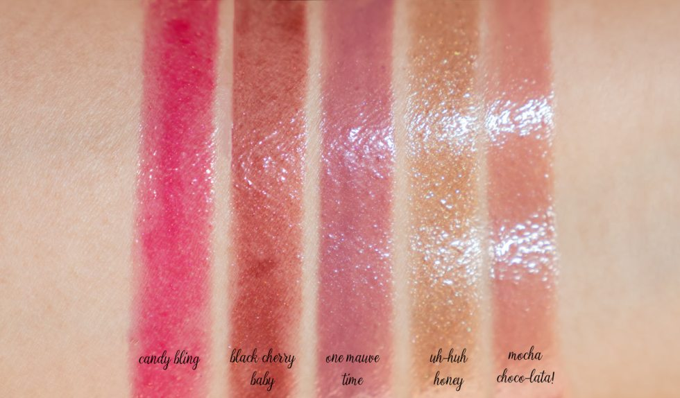 marc jacobs enamored lip gloss swatches