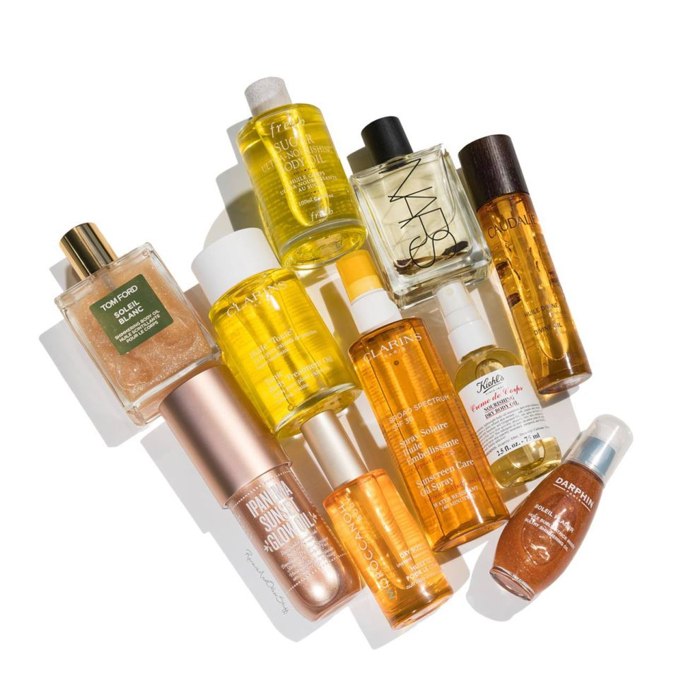 dry body oil review