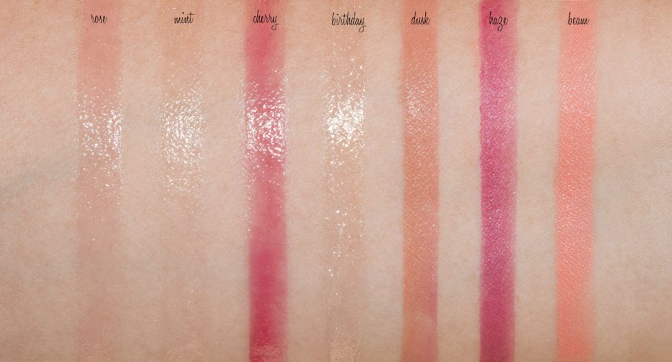 Glossier Cloud Paint & Balm Dotcom Review And Swatches -