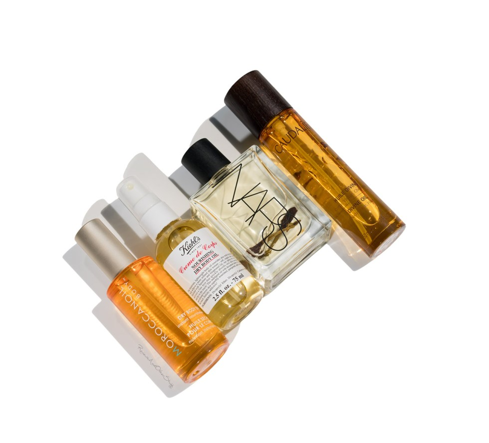 Nars Monoi Body Glow II, Moroccanoil Dry Body Oil review