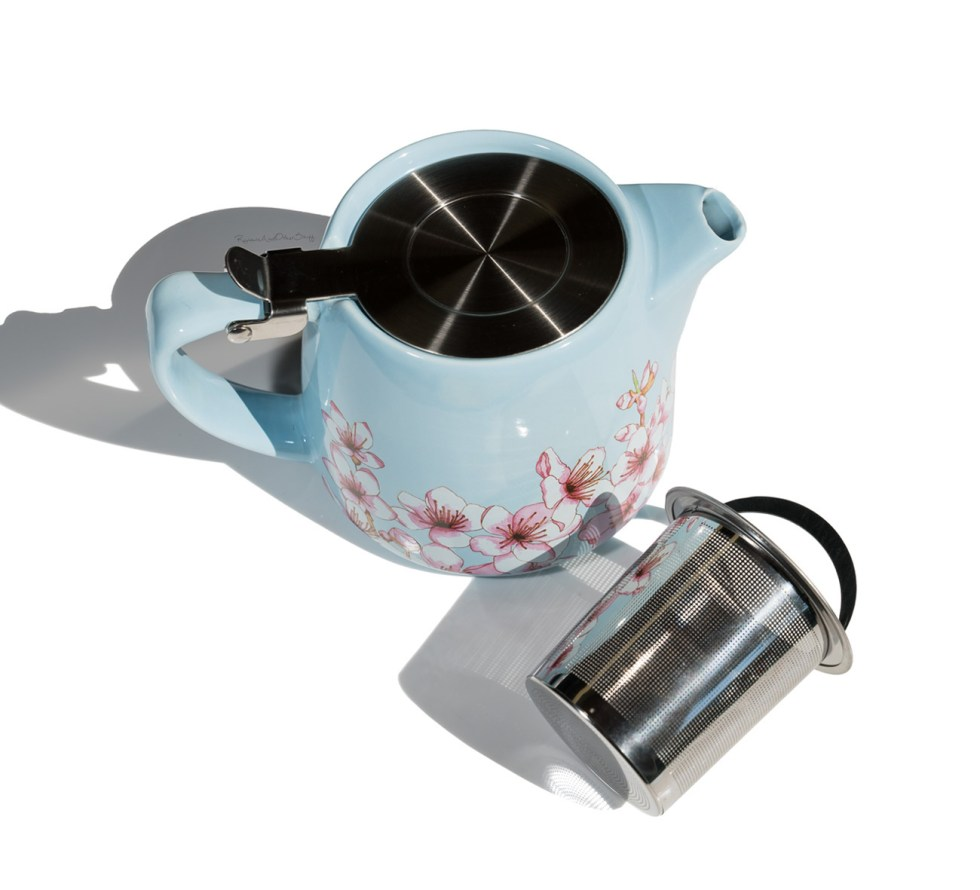 Alfred Ceramic and Stainless Steel Teapot fabfitfun