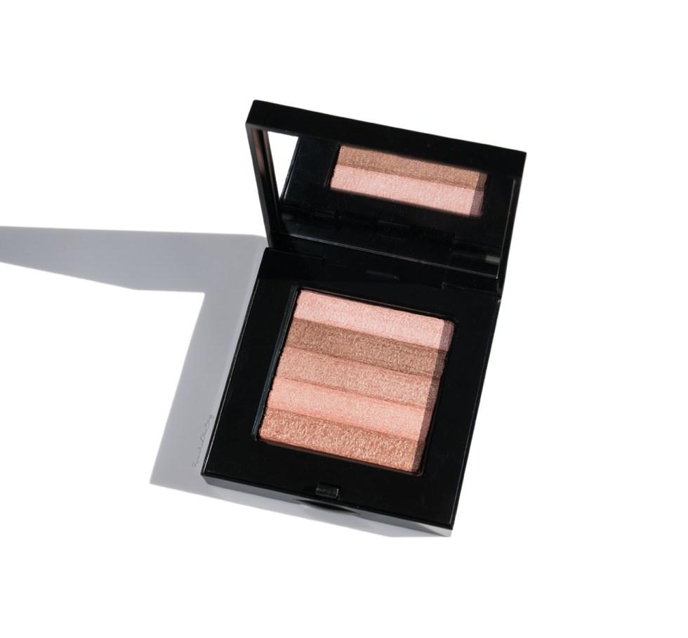 bobbi brown shimmer brick in pink quartz review