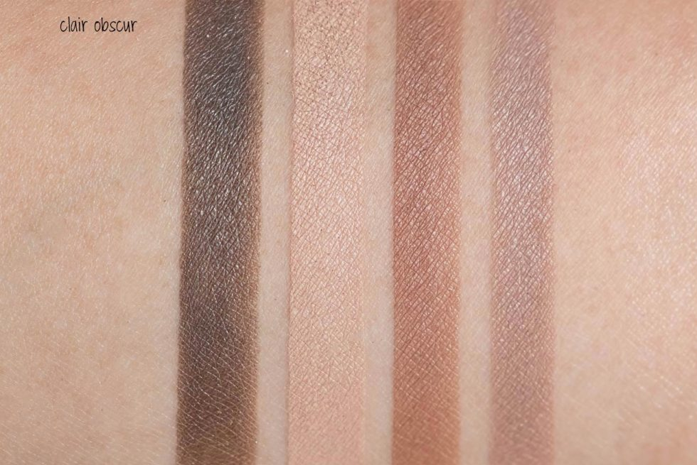 Chanel Les 4 Ombres Multi-Effect Quadra Eyeshadow in 308 Clair Obscur swatch