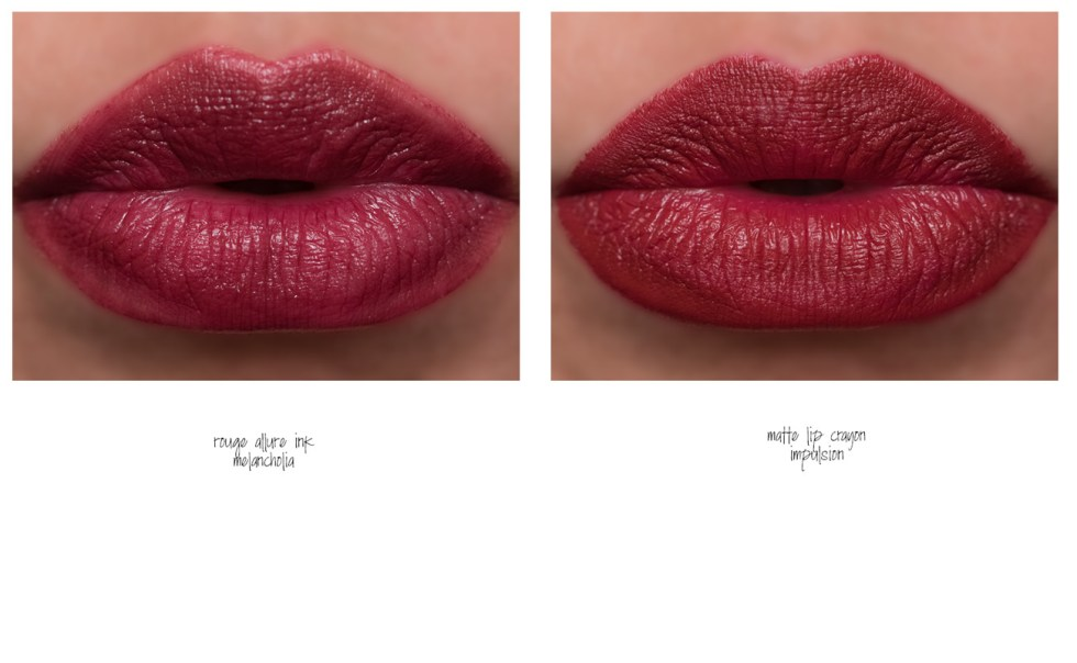Chanel Rouge Allure Ink in 174 Melancholia swatch