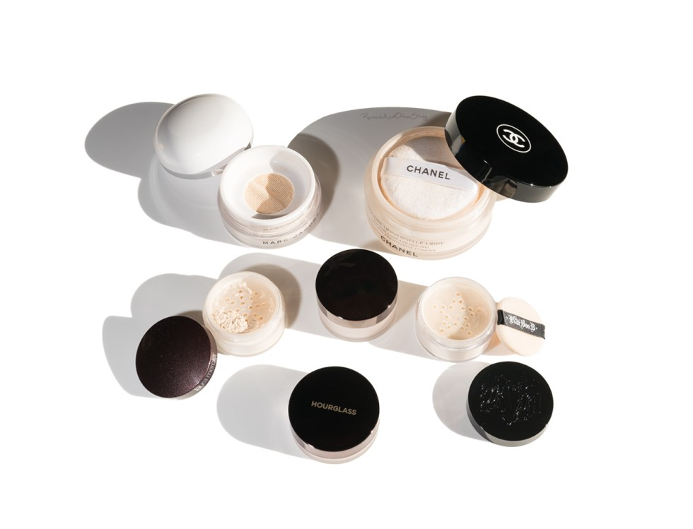 best loose setting powders