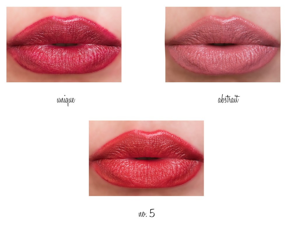 Chanel Rouge Allure Velvet swatches