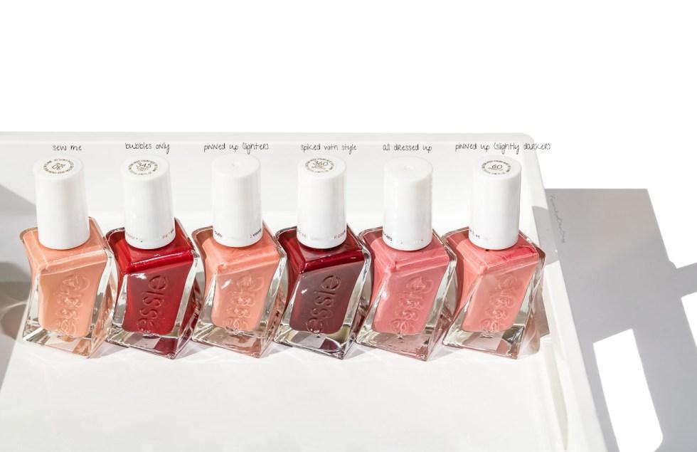 essie gel couture nail polish